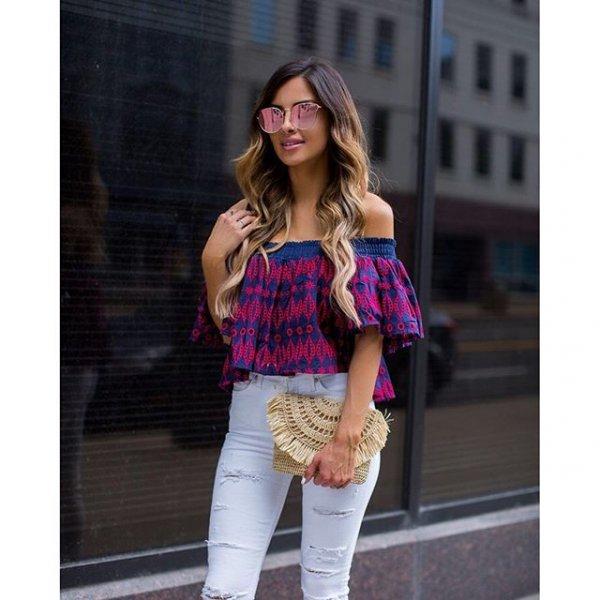 clothing, pink, footwear, jeans, sleeve,