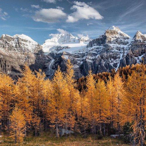mountainous landforms, nature, mountain, wilderness, tree,