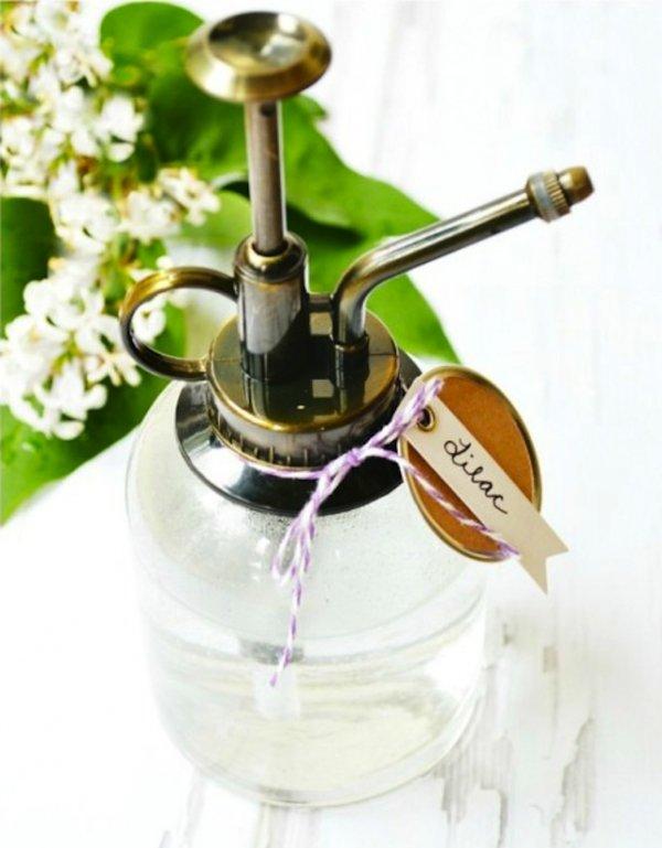 Homemade Lilac Room Spray