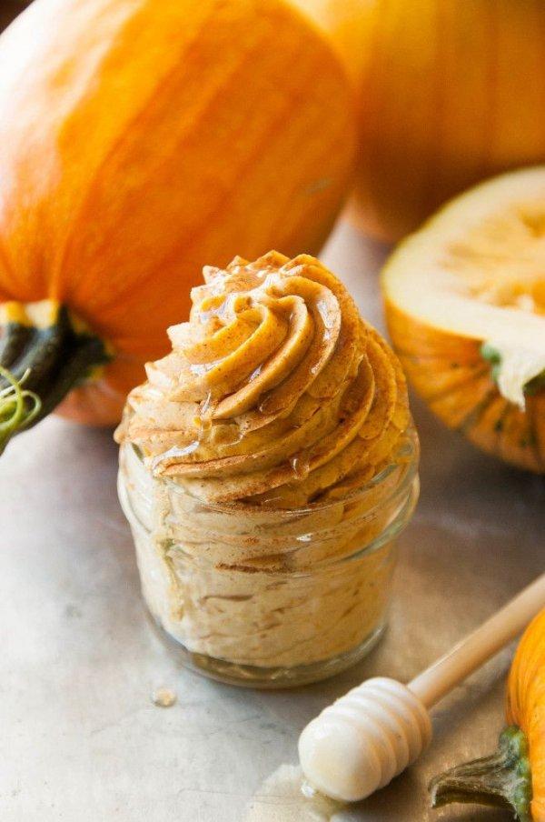 Whipped Cinnamon Pumpkin Honey Butter