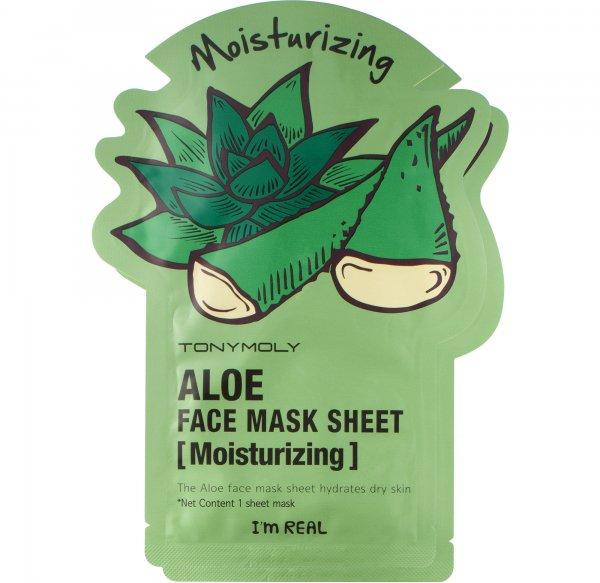 Tony Moly I'm Real - Aloe Face Mask Sheet