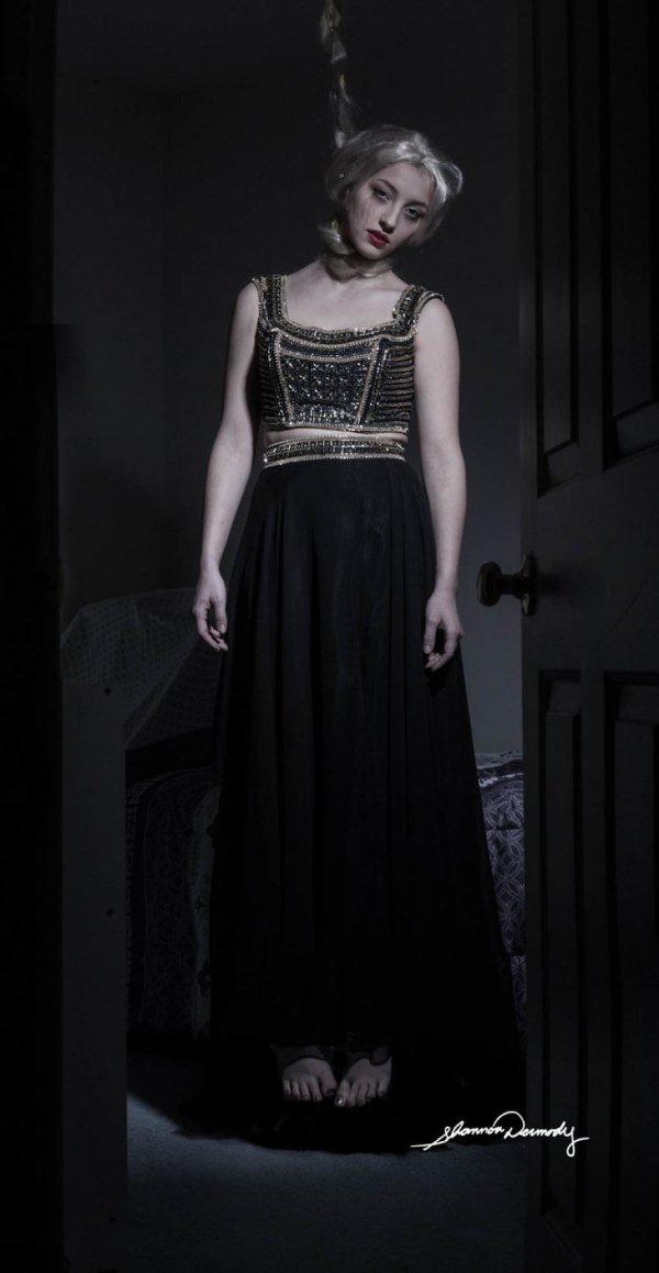 black, clothing, dress, fashion, gown,