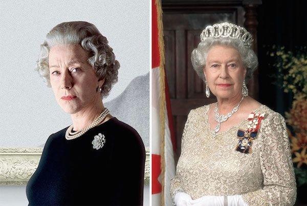 Helen Mirren as HM Queen Elizabeth II
