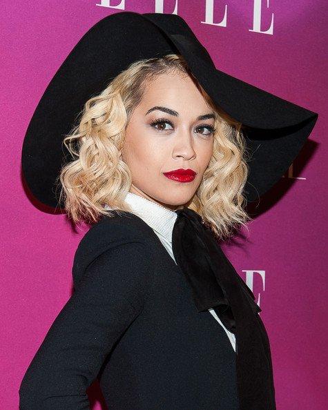 Rita Ora Beautiful in Big and Black