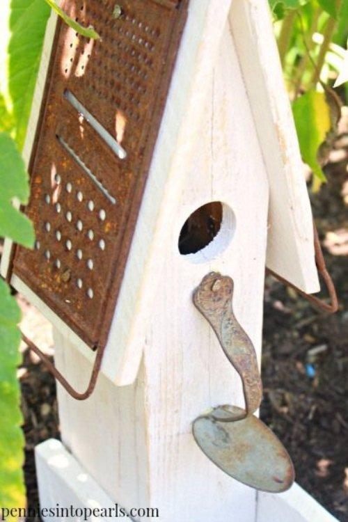 Pallet Wood Birdhouse