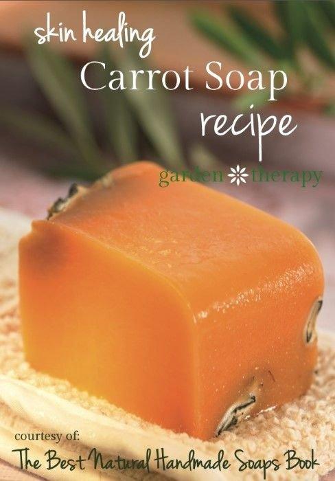 Anti-Aging and Skin Repair Carrot Soap