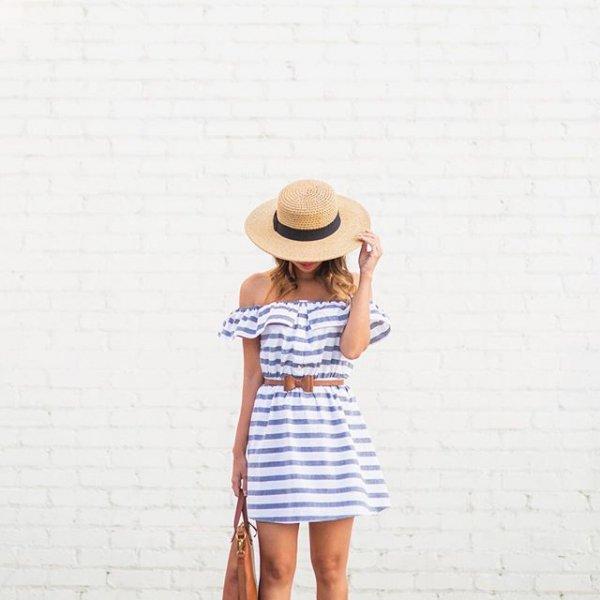 clothing, denim, polka dot, footwear, bag,