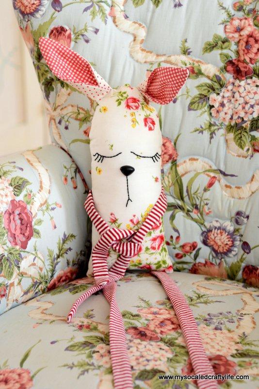 Vintage Hanky Bunny