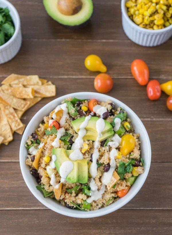 Simple Quinoa Bowl