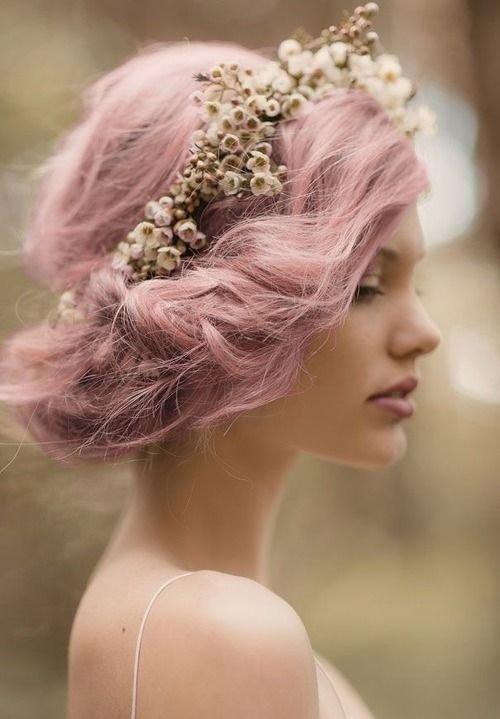 Delicate Wedding Hair