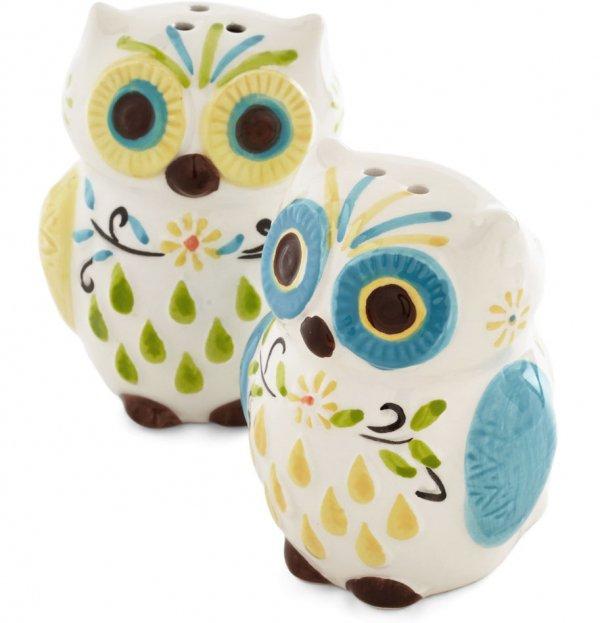 Owl the Fixins Shaker Set