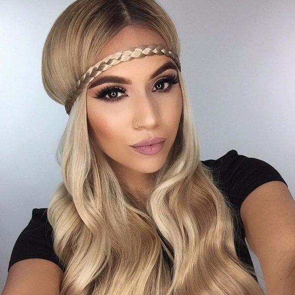 hair, hair accessory, human hair color, eyebrow, blond,