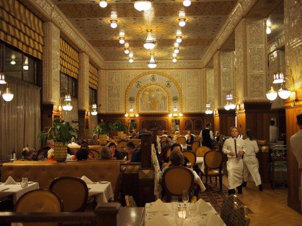 Prague's Cafe Imperial
