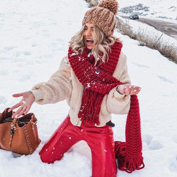 winter, snow, outerwear, fur, headgear,