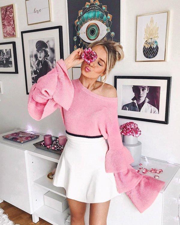 pink, clothing, shoulder, joint, sleeve,