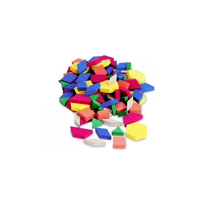 Foam Magnets, Pattern Blocks