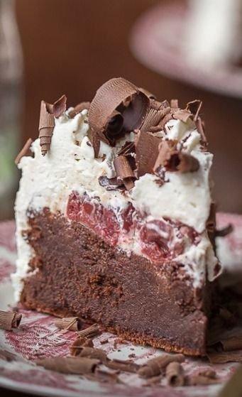 Flourless Black Forest Chocolate Cake