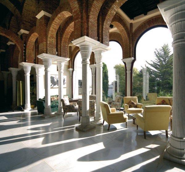 Hotel La Bobadilla, Granada, Spain - 46 Spectacular Hotel Lobbies…