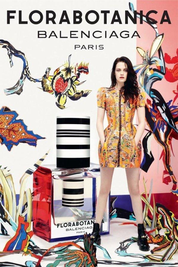 Kristen Stewart for Florabotanica