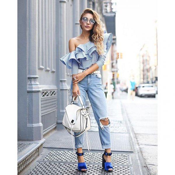 clothing, sleeve, footwear, denim, spring,