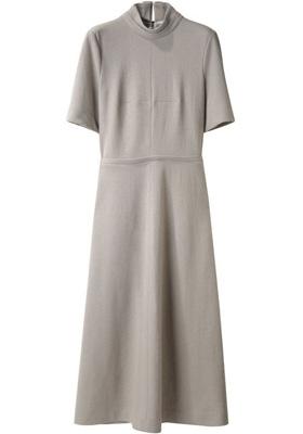 Cacharel Long Wool Jersey Dress
