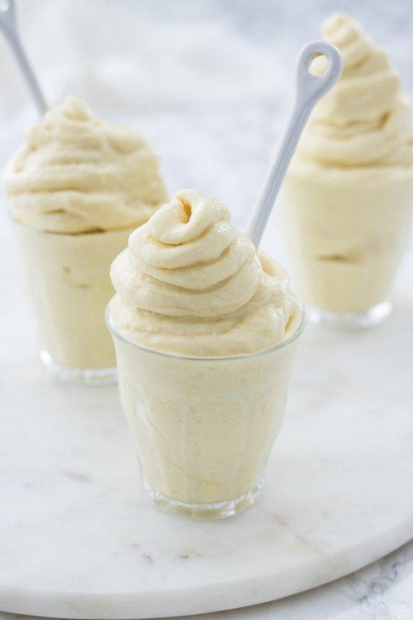 Food, Cuisine, Frozen dessert, Cream, Dish,