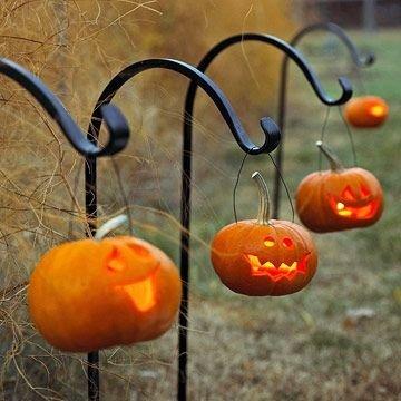 Tiny Jack-o-lanterns