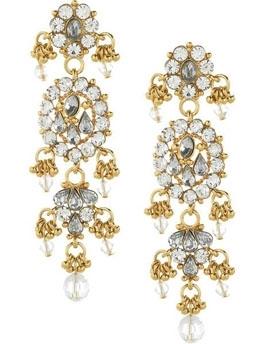 Isharya Bling Maharani 18-Karat Gold-Plated Earrings