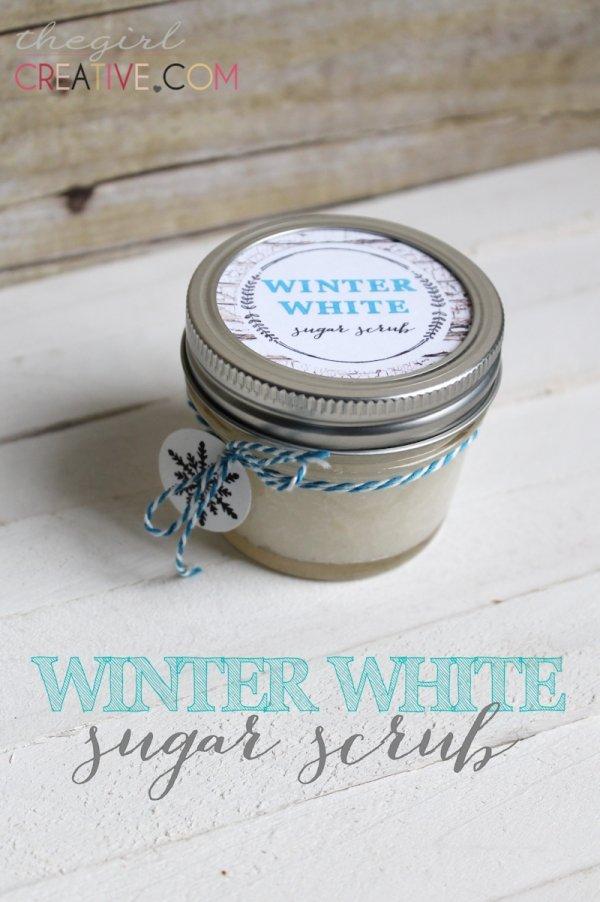 Winter White Sugar Scrub