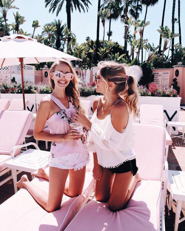 swimwear, sunglasses, vacation, fun, girl,