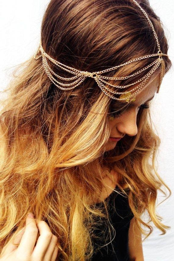 Boho Head Chain