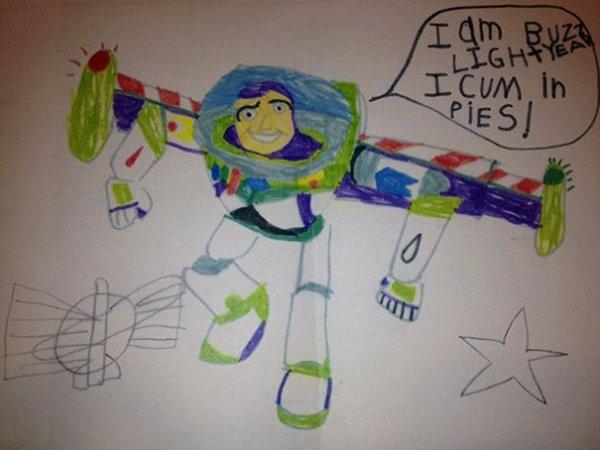 Buzz Comes in Peace