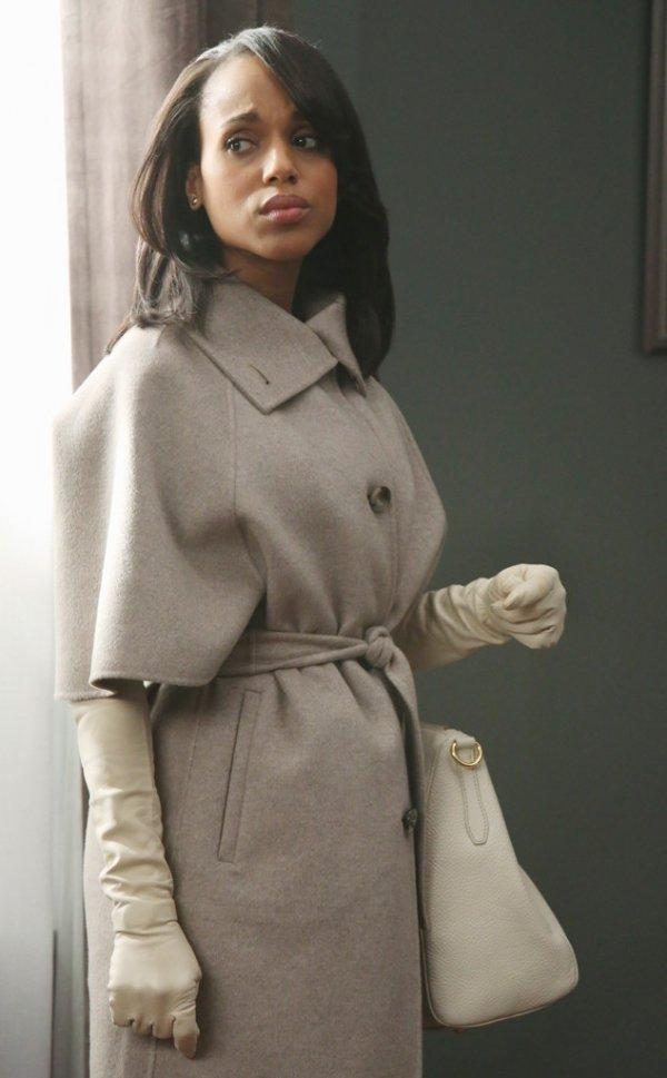 Max Mara Coat & Dorothy Gaspar Gloves
