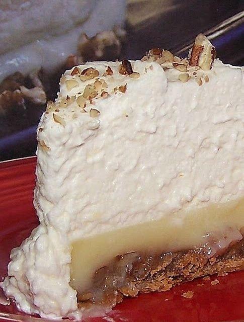 Praline Custard Pie