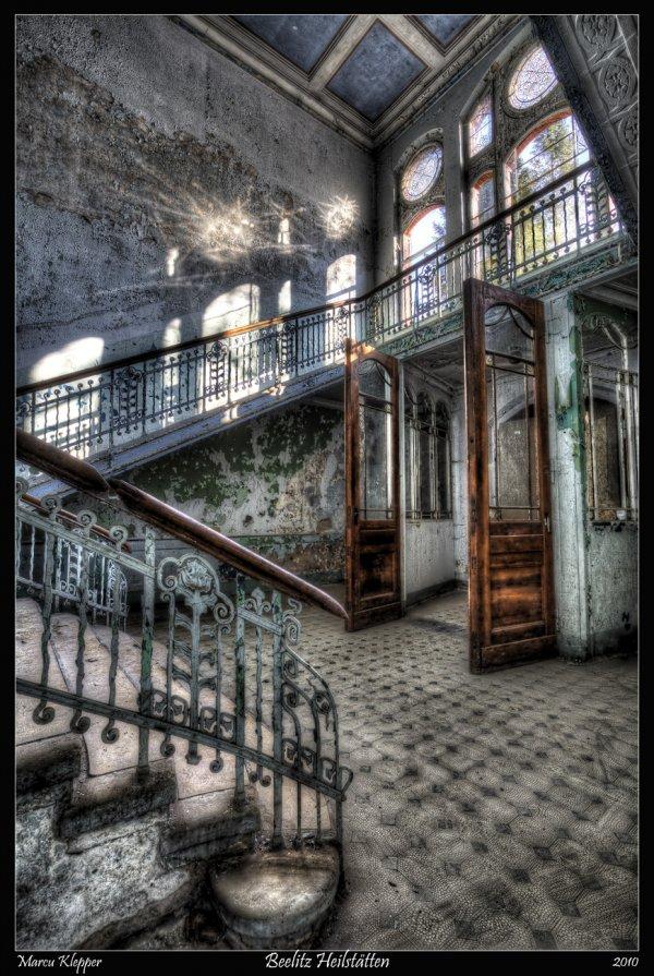 Get the Creeps at Beelitz Heilstätten
