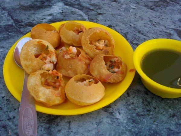 Feast on Spicy Golgappas
