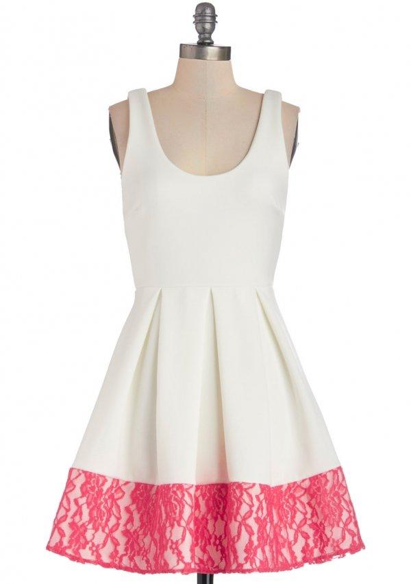 Floral Di Latte Dress