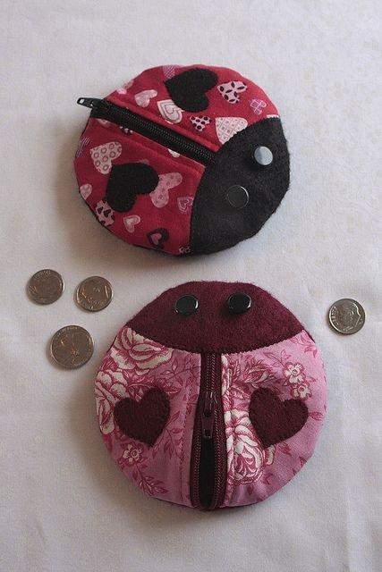 Lovebug Coin Purse