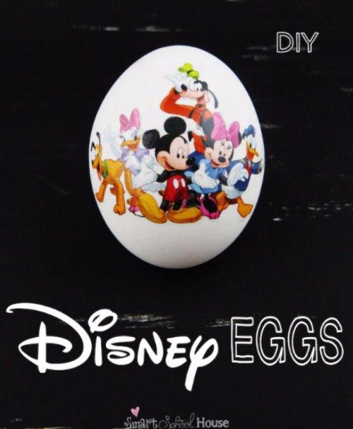 How to Make Disney Eggs