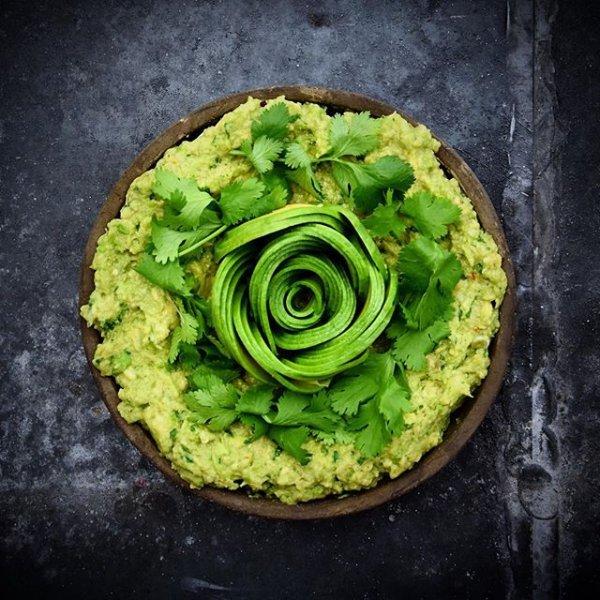 green, dish, food, plant, flower,