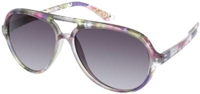 ASOS Floral Aviator Sunglasses
