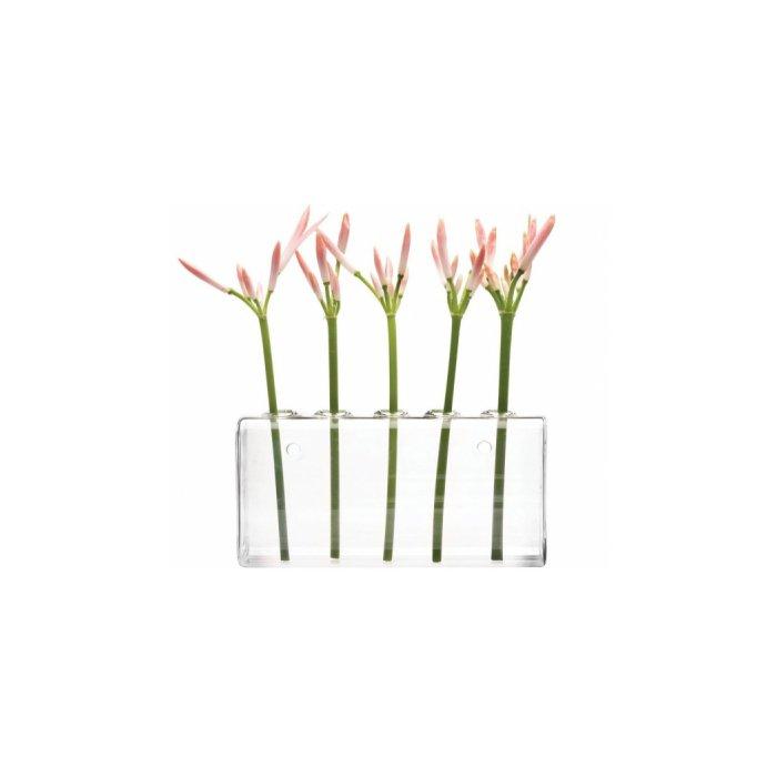 Chive Hudson Wall-Hanging Glass Flower Vase