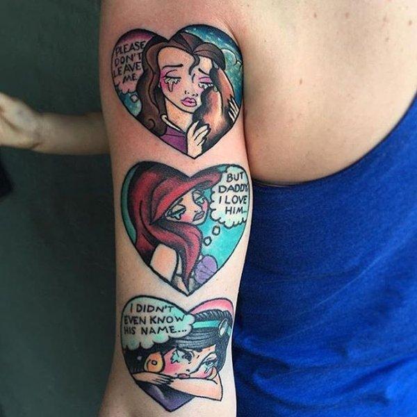 tattoo, art, tattoo artist, arm, thigh,