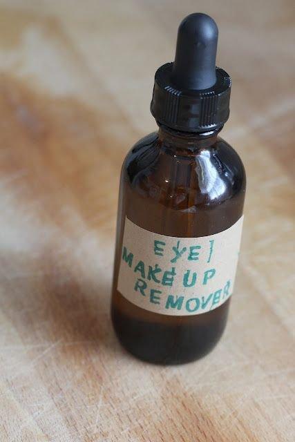 Homemade Organic Eye Makeup Remover