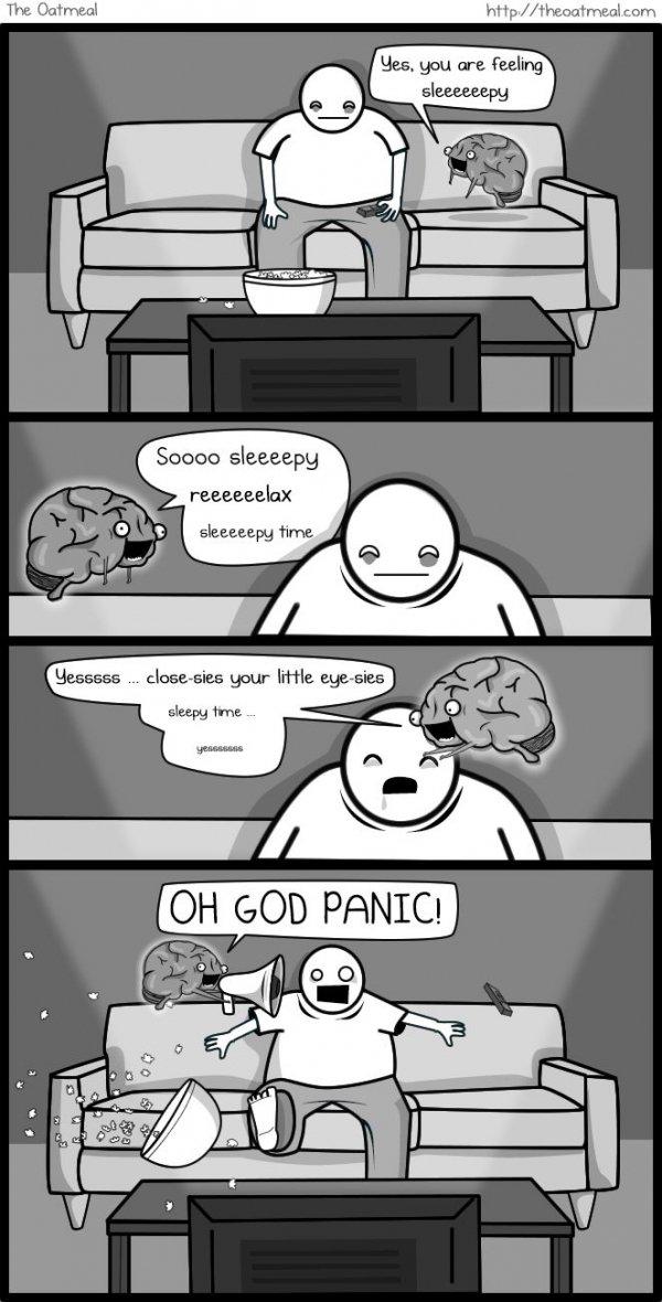 The Brain, the Imaginary Friend