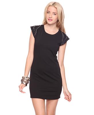 Embellished Edge Dress