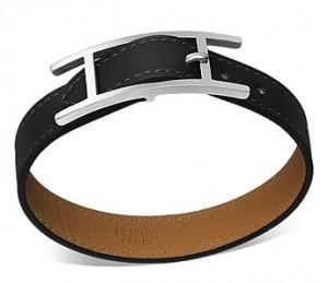 Hapi 3 GM Hermès Leather Bracelet