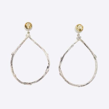 Twig Tear Drop Earrings...