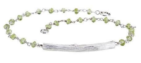 Peridot Sterling Silver Bracelet...