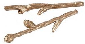 Golden Twig Hairpins